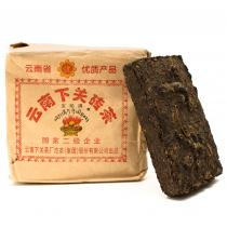 Iron Pressed Raw Pu'er Brick